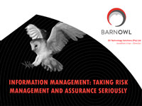 BarnOwl Information Management Presentation - IIA Namibia Conference